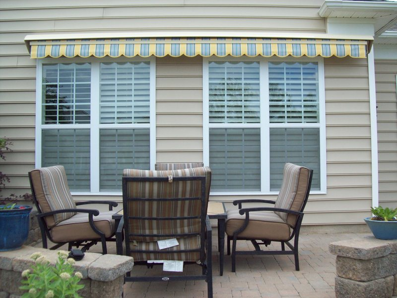 Residential Retractable Awnings – Charlotte Tent and Awning